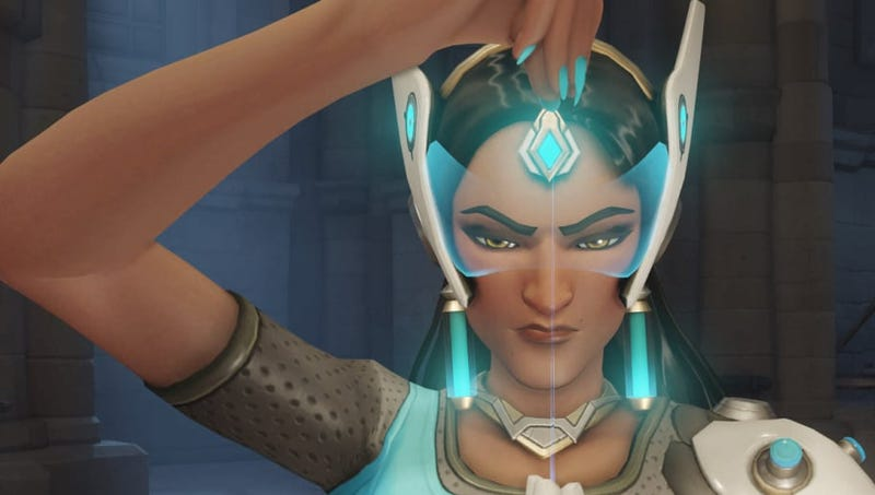 Illustration for article titled Overwatch's Symmetra Mains Are Still Getting Hate, Even After Her Overhaul