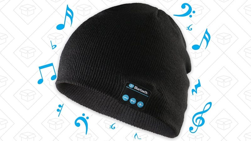 Bluetooth Beanie | $9 | Amazon | Promo code MM7DR88W