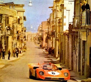 Illustration for article titled 1970 Targa Florio: Racing In The Streets