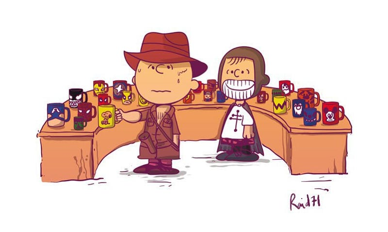 Illustration for article titled Charlie Brown Actually Makes a Pretty Great Indiana Jones