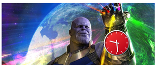 Illustration for article titled Looks like Thanos has found the Time Stone