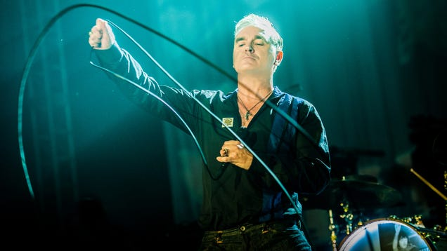Relationship status with Morrissey's new covers album: It's complicated