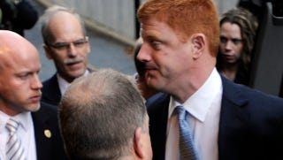"Illustration for article titled Penn State Witness Mike McQueary's Testimony: ""Some Kind Of Intercourse Was Going On"""