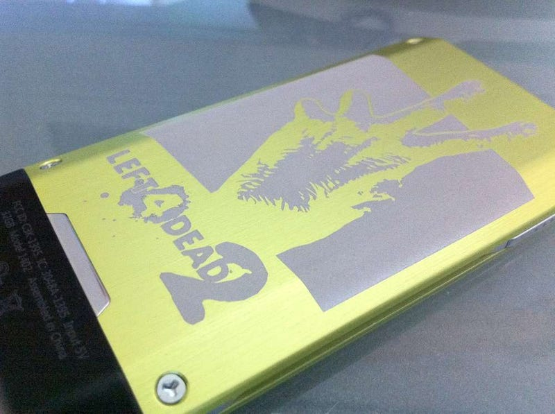 Illustration for article titled How Would you Like This Left 4 Dead 2 Themed Zune HD?