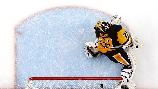 Marc-Andre Fleury Is Back And Oh God That Went Poorly