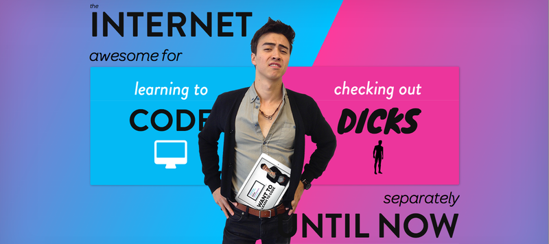 Illustration for article titled Code Dicks Parody Site Is Your Equal Opportunity Answer to Code Babes