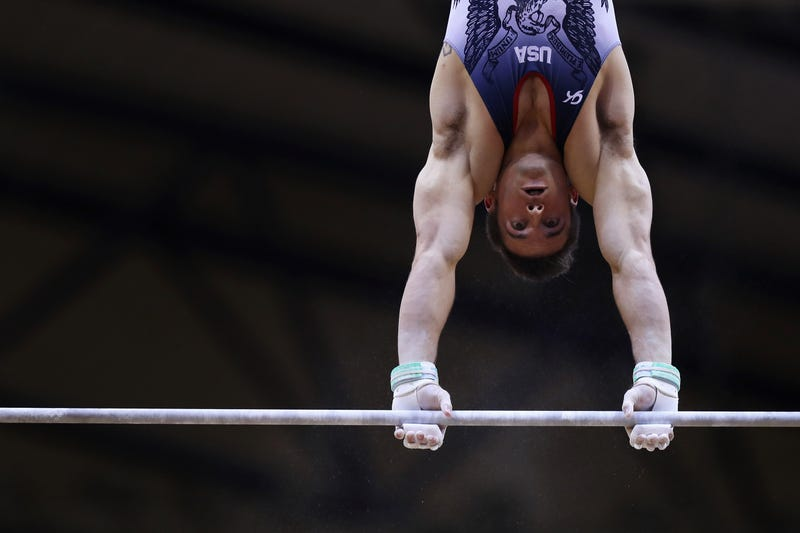 Illustration for article titled Sam Mikulak Finally Has His Medal
