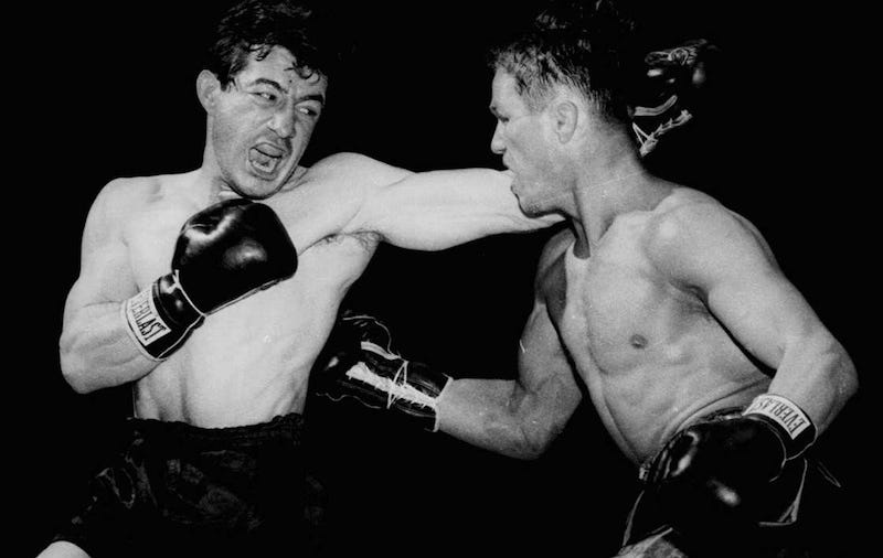 How Rocky Graziano Became Boxing S Greatest Muse
