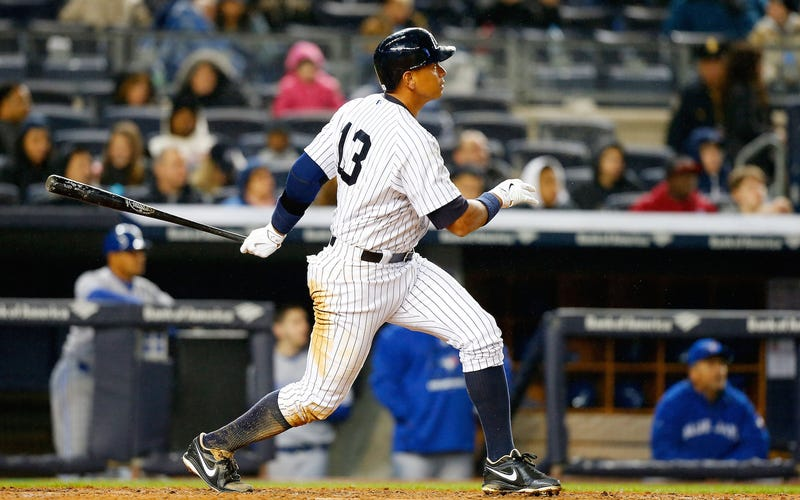 Illustration for article titled Alex Rodriguez Is One Homer Closer To Costing The Yankees $6 Million