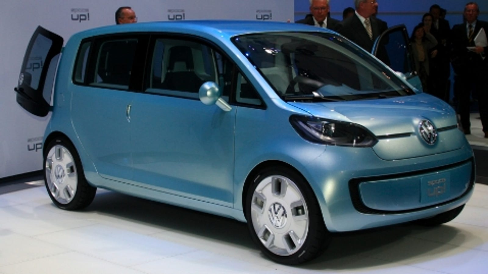 fuel cell version of vw space up concept head to los angeles. Black Bedroom Furniture Sets. Home Design Ideas