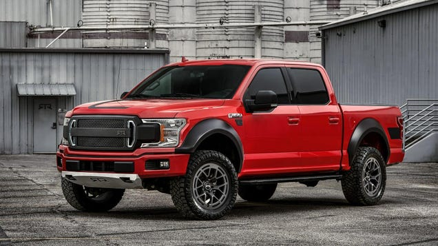 The 2019 Ford F-150 RTR Is Your Big Bouncing Off-Roading