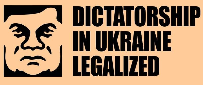 Illustration for article titled Egy pofás grafikonban megnézheted az emberi jogok ukrán tiprását