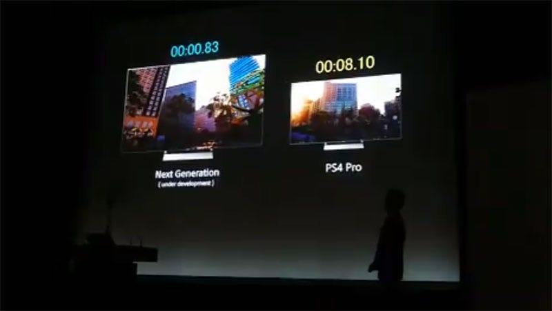 Sony Shows Off PS5 Loading Times