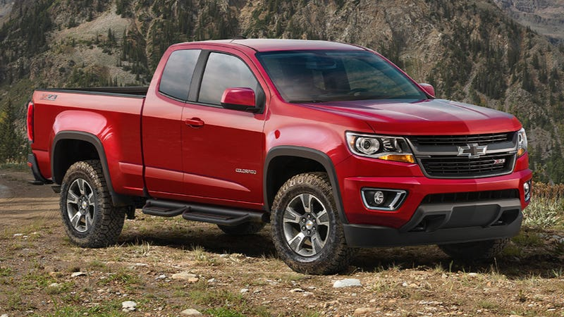 Illustration for article titled Chevy Colorado Trail Boss Is The ZR2 Concept Watered Down To Reality