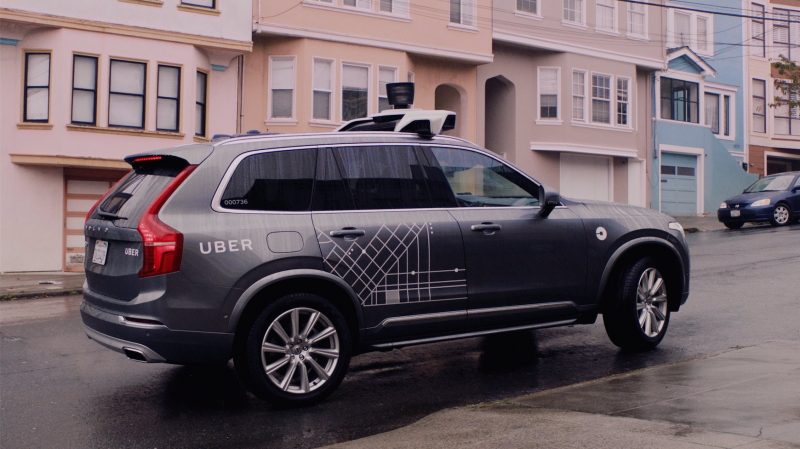 Uber Self-Driving Cars Removed From San Francisco