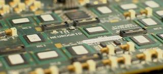 Illustration for article titled Este circuito basado en el cerebro es 9.000 veces más rápido que un PC