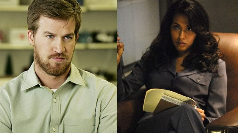 Kenneth Mitchell in Jericho, and Rekha Sharma on Battlestar Galactica