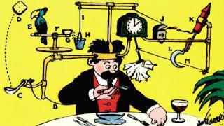 Illustration for article titled Az éhes embernek vacsorát kell adni, nem folyamatábrát