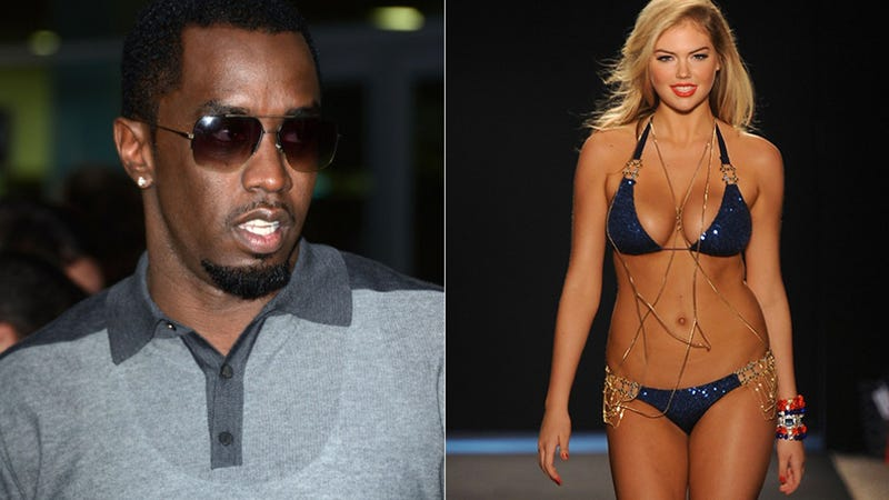 Illustration for article titled Surprise! Diddy and Kate Upton Are Dating