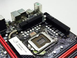 Illustration for article titled ASUS Motherboard Can Be Tweaked With A Bluetooth-Enabled Phone