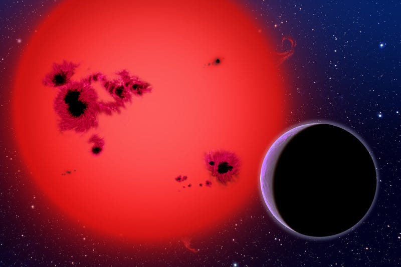 "Illustration for article titled ""Super Earth"" Discovered Orbiting A Red Dwarf Star"