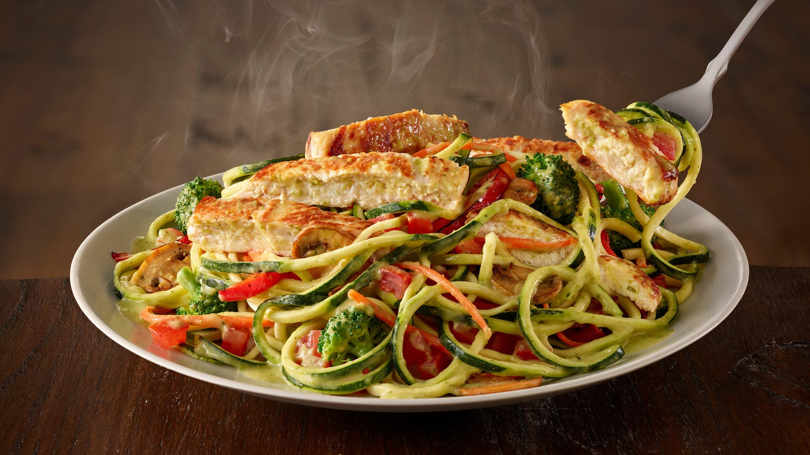 Current Olive Garden Menu: Olive Garden Falls Into The Sweet Carb-less Embrace Of The