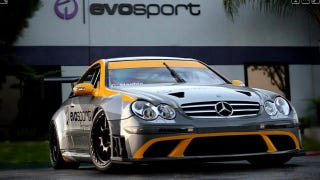 Illustration for article titled Tuning Shop Turns CLK63 AMG Black Into Legitimate Race Car