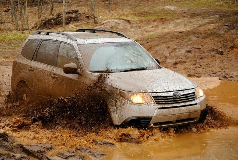 2009 Subaru Forester Unsupervised Off Road Mayhem