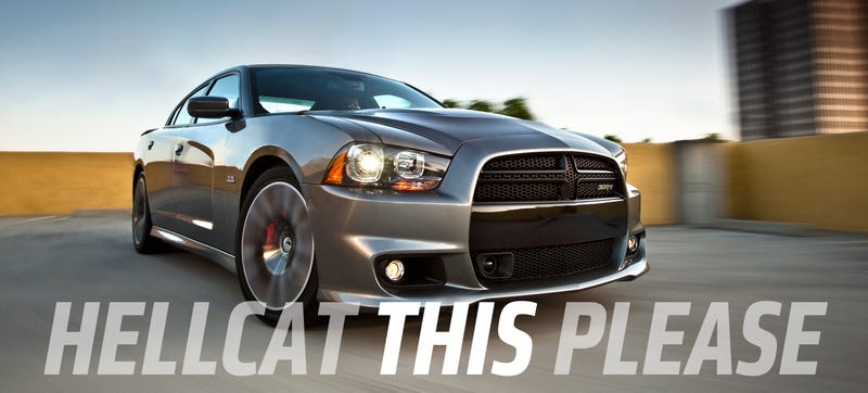 Illustration for article titled 600+ Horsepower Dodge Charger Hellcat Could Be America's Fastest Sedan