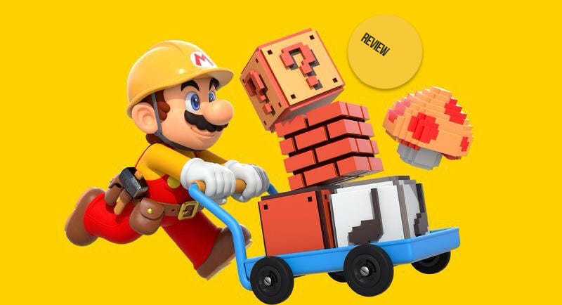 Illustration for article titled Super Mario Maker: The Kotaku Review
