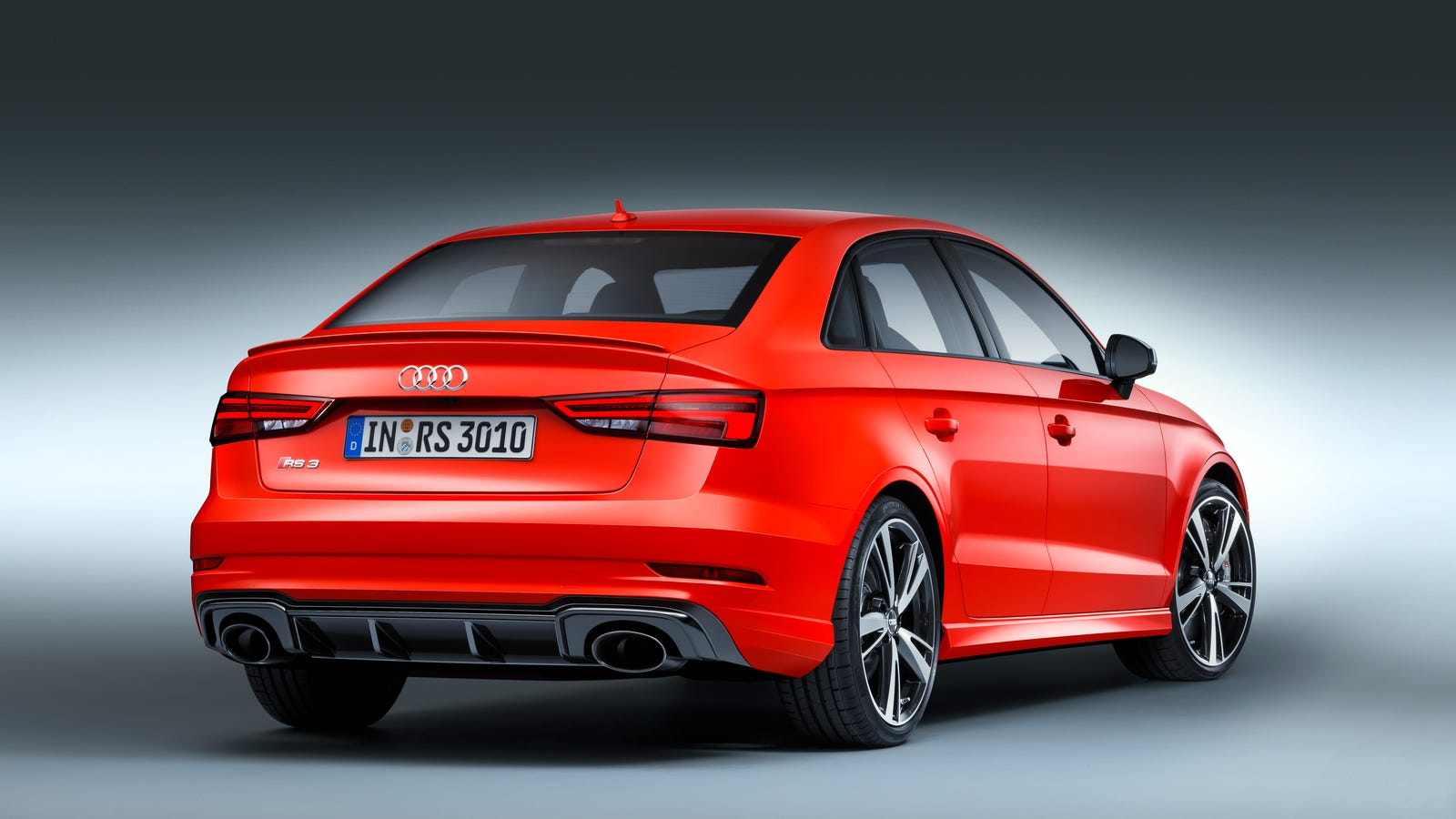the audi rs3 sedan is a 400 hp five cylinder monster sedan. Black Bedroom Furniture Sets. Home Design Ideas
