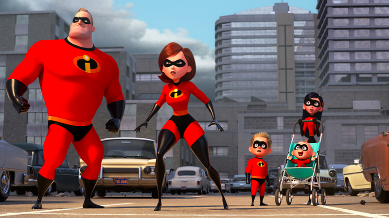 A promo image featuring the Parr family getting ready to spring into action.
