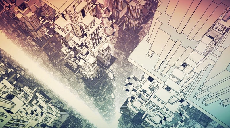 Illustration for article titled Manifold Garden, An Incredibly Pretty Puzzle Game