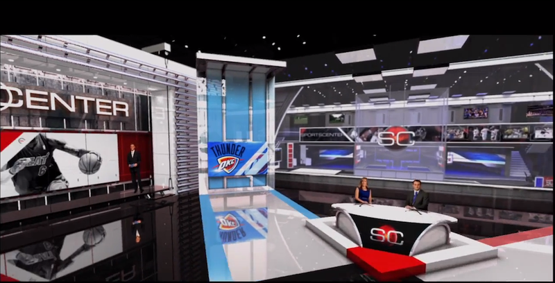Illustration for article titled Ex-ESPNer: Did Network Cut 300-400 Jobs To Pay For SportsCenter Set?