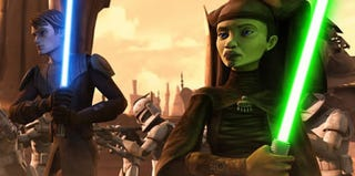 Illustration for article titled Is Clone Wars One Big Advertisement For The Dark Side?