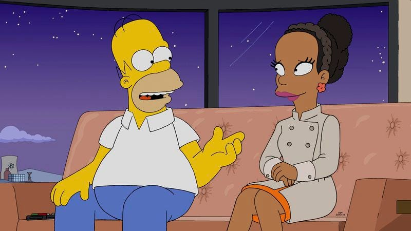 Homer, Princess Kemi (Fox)