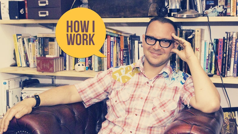 Illustration for article titled I'm Cory Doctorow, and This Is How I Work