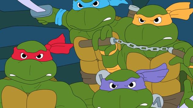Teenage Mutant Ninja Turtles Channels Superbad With Seth Rogen s Release Date Reveal
