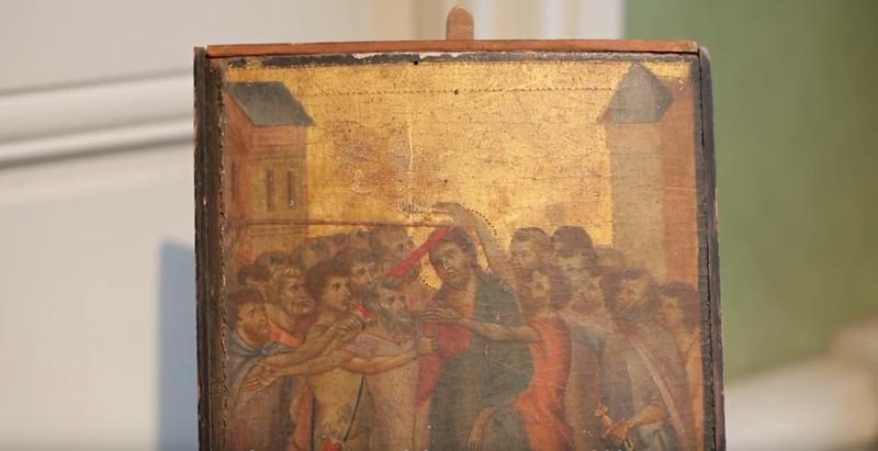 Una mujer descubre que tenía una obra maestra del Renacimiento colgando en la cocina