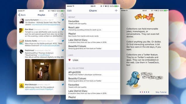 Charm for iPhone Gives You Incredible Control Over Your Twitter Experience