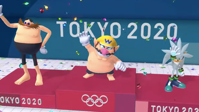 Everyone is appalled by Wario's poor excuse for nipples