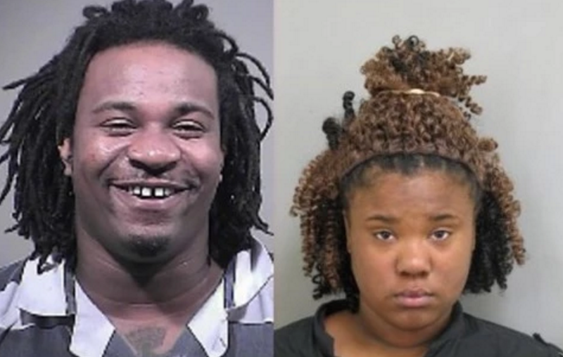 Atuan Saran Rogers and Dierra Thomas were charged with prostitution after allegedly forcing a teenage girl to have sex with 228 people in Silver Spring, Md.Montgomery County, Md., Police Department via the Washington Post