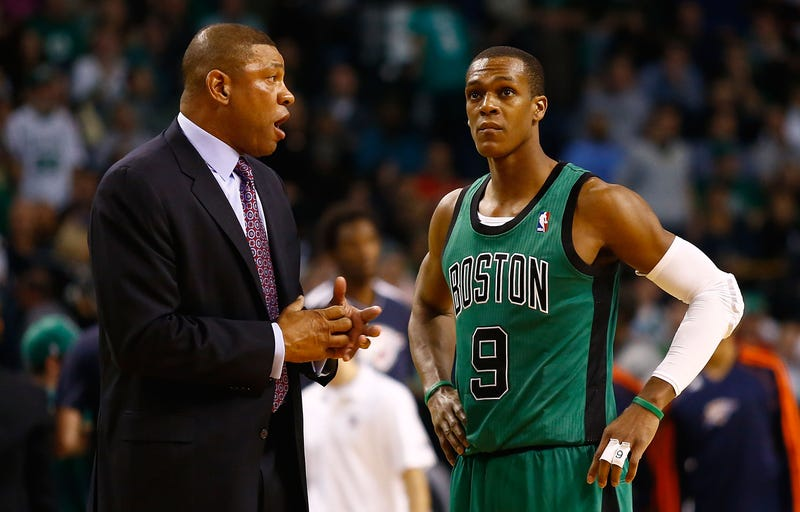Illustration for article titled Flimsy Report: Rajon Rondo Swore At Doc Rivers, Almost Fought Him