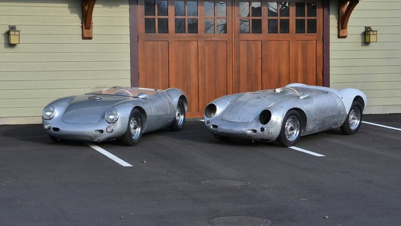 this 320000 replica is so accurate its more porsche than a porsche - Porsche Spyder 550 Replica