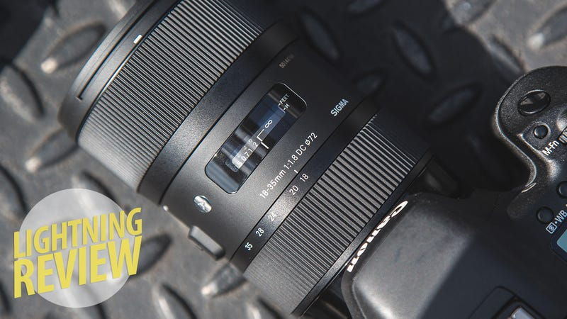 Illustration for article titled Sigma 18-35mm f/1.8 Review: The Best Low-Light Zoom Lens By a Mile