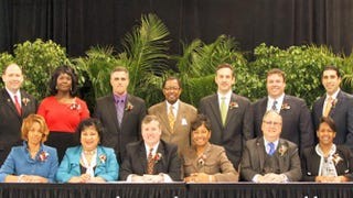 Members of the East Baton Rouge Parish Metro Council on Sept. 23, 2015Baton Rouge Government