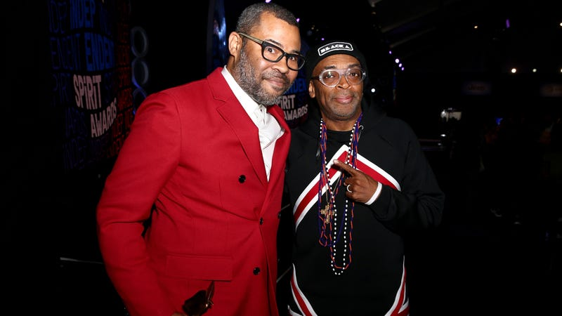 "Illustration for article titled Jordan Peele reminds Spike Lee about their first meeting: ""You handed me my ass"""