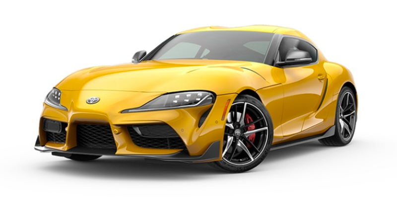 Illustration for article titled The 2020 Toyota Supra Actually Comes in a Few Cool Colors
