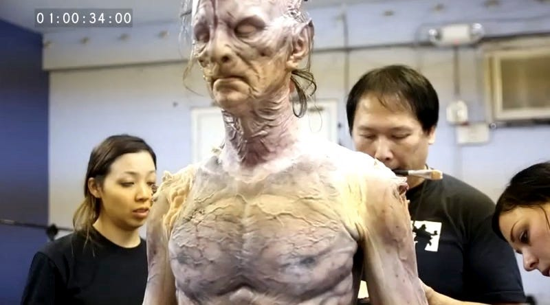Illustration for article titled Doug Jones Transforms Into a Demon in this Behind-the-Scenes Look at Horror Short The Visitant