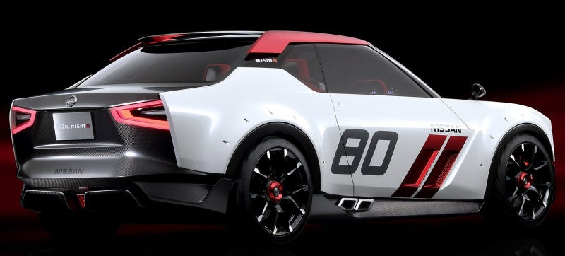 Illustration for article titled The Next Nissan Z Could Be More Like The IDx, Because Money